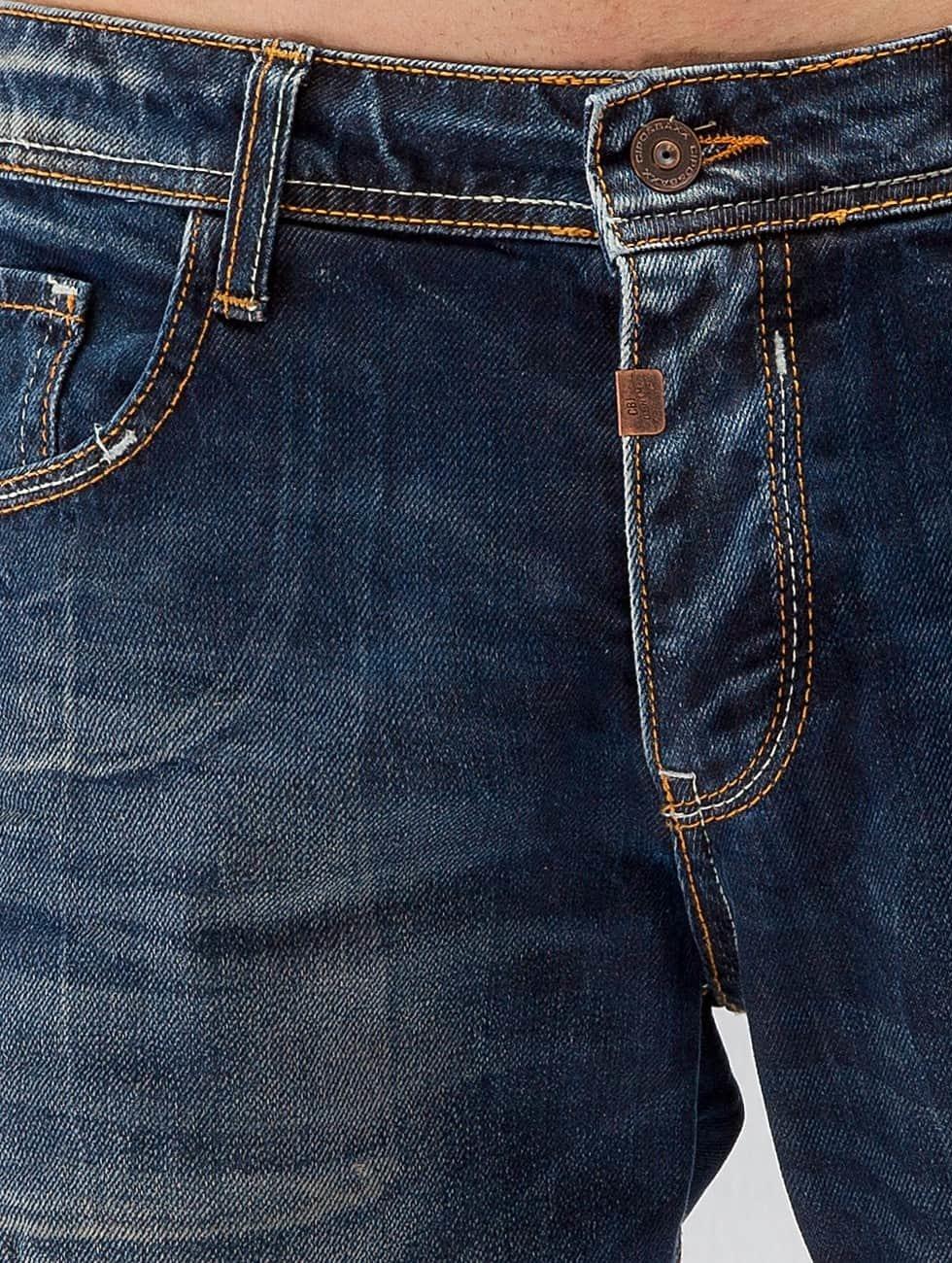 Cipo & Baxx Straight Fit Jeans Thijs blue