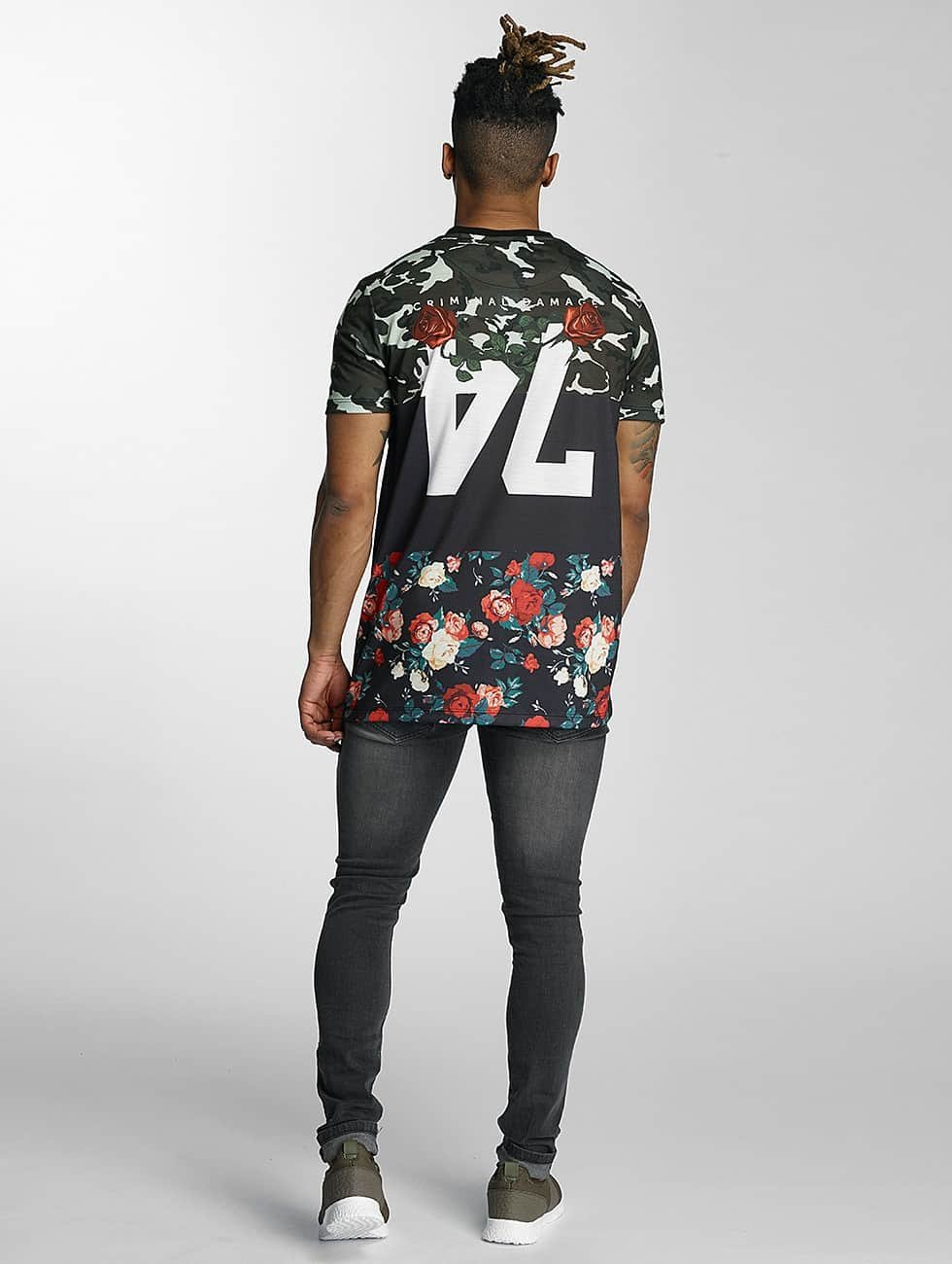 Criminal Damage T-Shirt Medley black