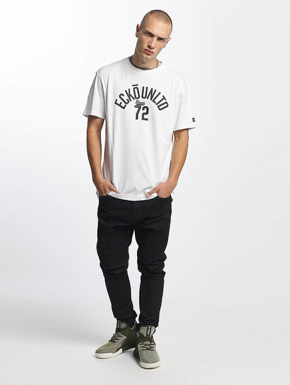 Ecko Unltd. T-Shirt Bobby Basic white