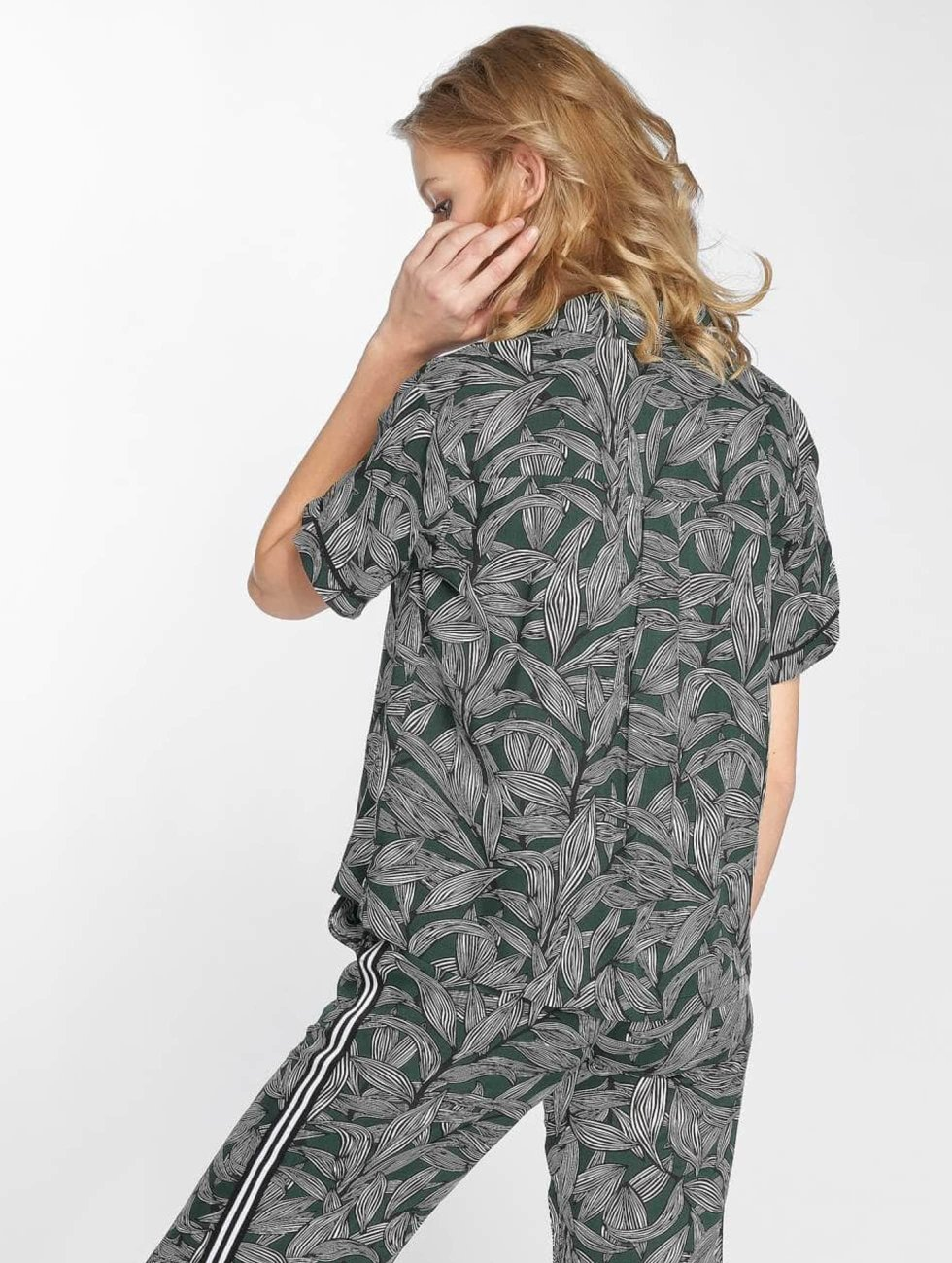 Grace & Mila Blouse/Tunic Paume green