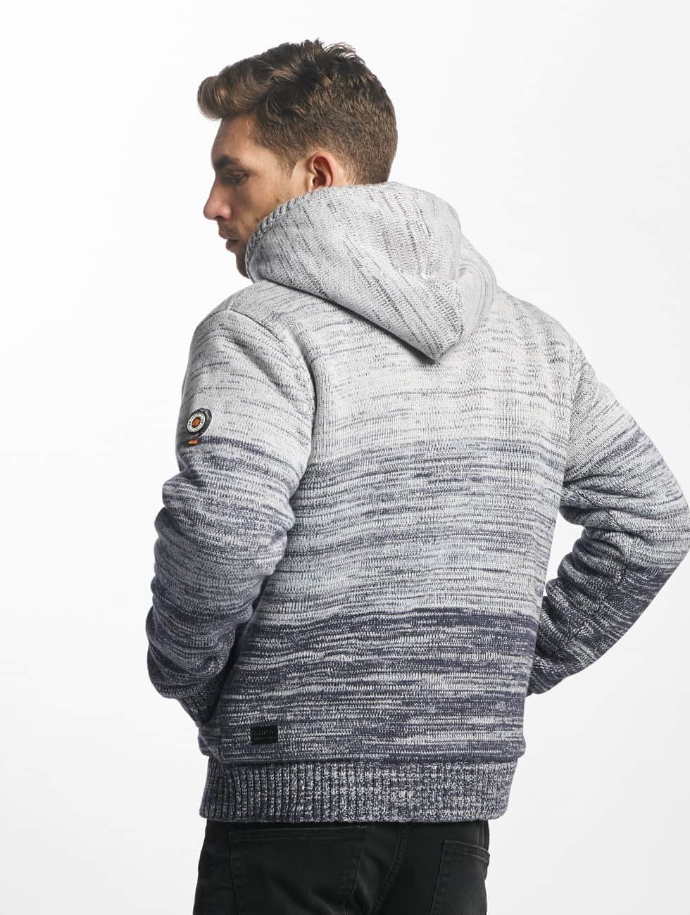 Khujo Lightweight Jacket Prib Knit gray