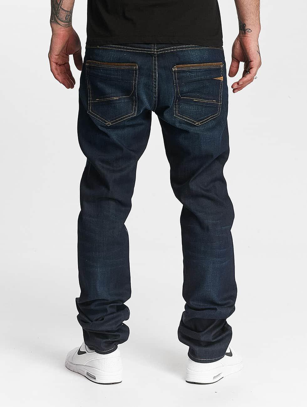 Le Temps Des Cerises Straight Fit Jeans 812 Basic blue
