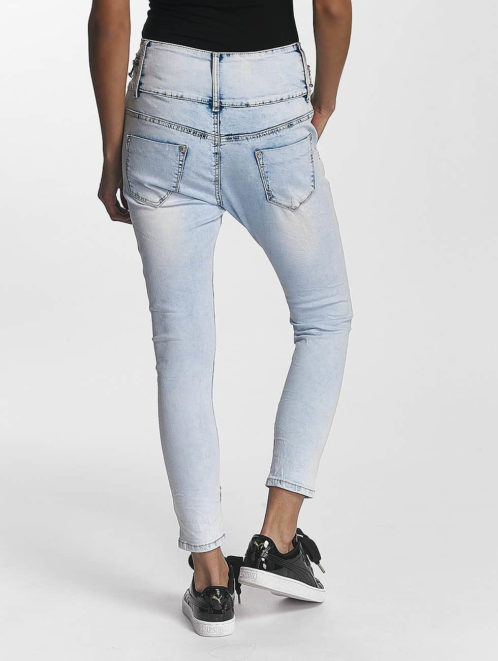 Leg Kings Boyfriend Jeans Reality Fashion blue