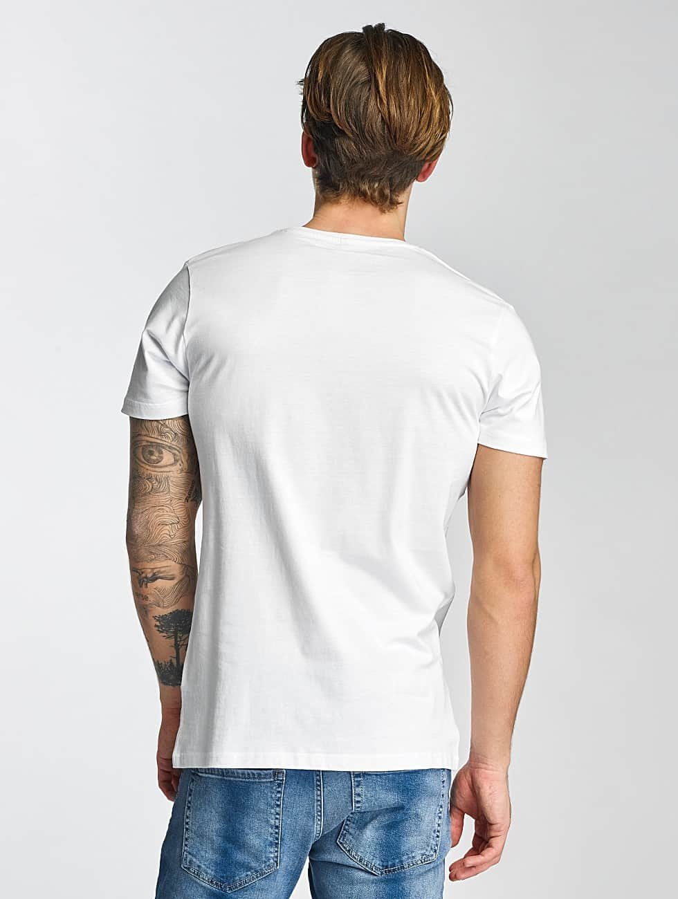 Merchcode T-Shirt Swedish House Mafia Logo white