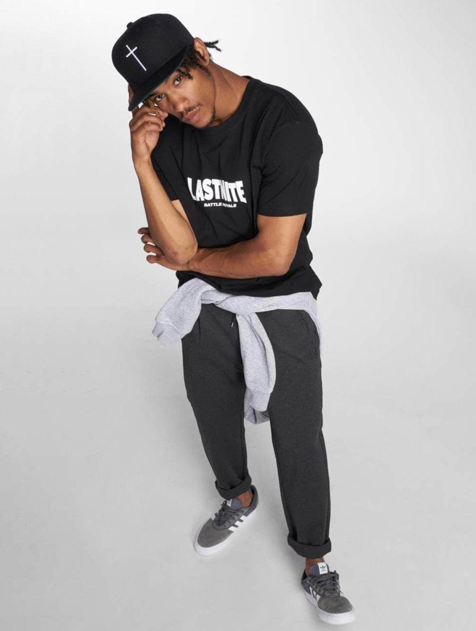 Mister Tee T-Shirt Battle Royal Tee black