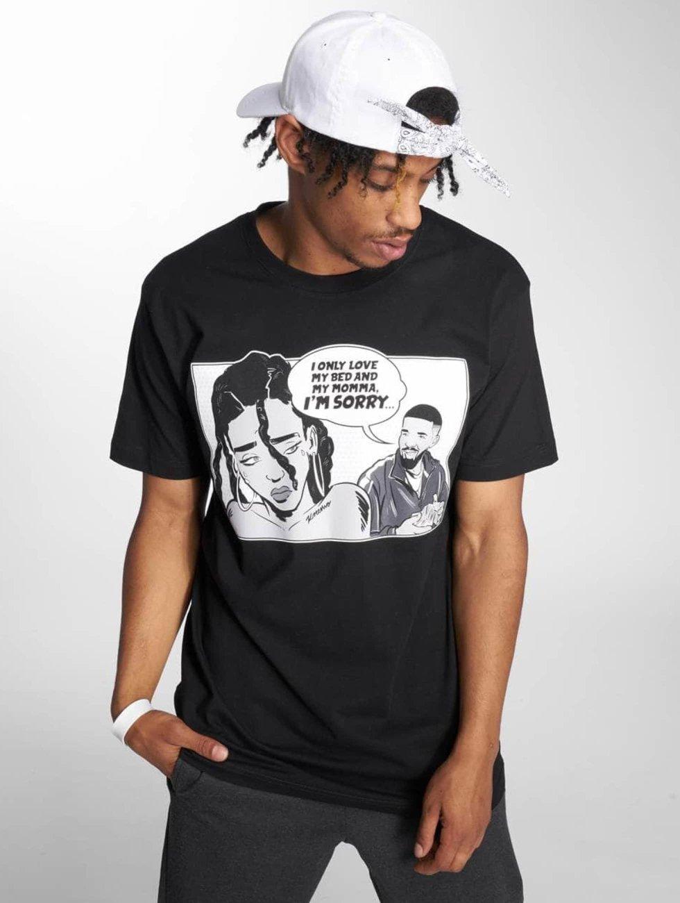 Mister Tee T-Shirt Sorry Tee black