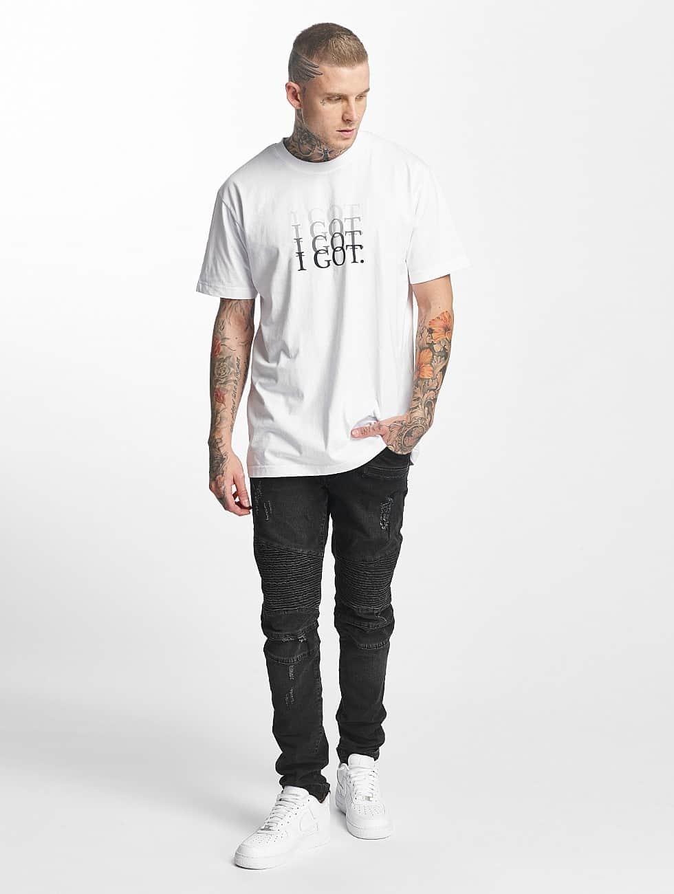 Mister Tee T-Shirt I Got white