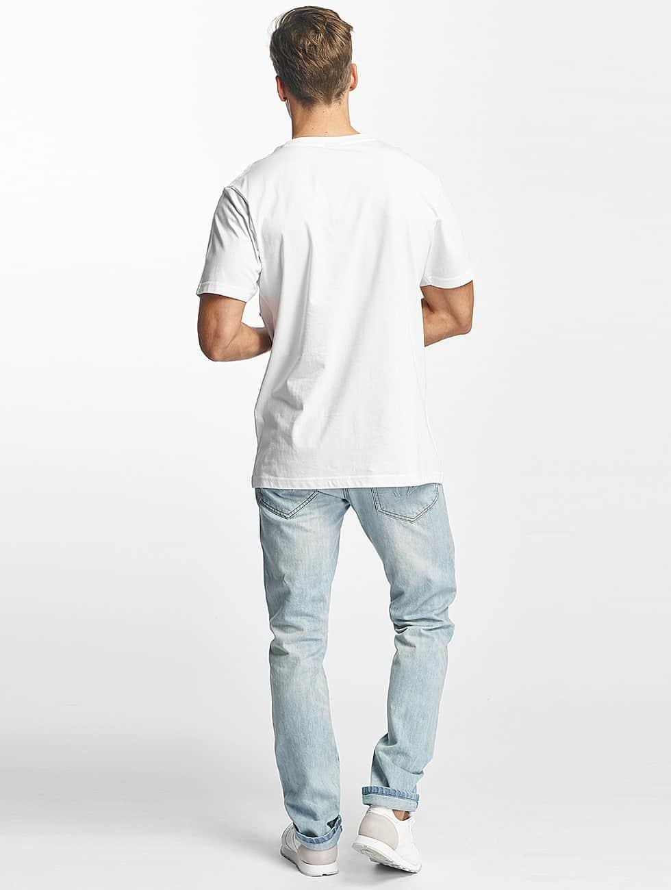 Mister Tee T-Shirt Love Vibes Only white