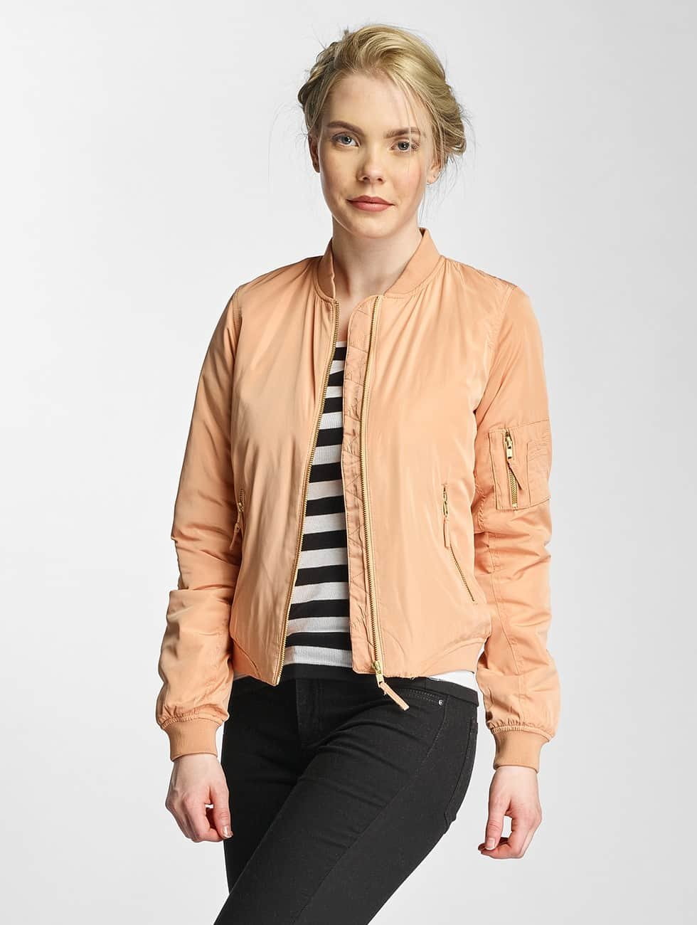 Noisy May Bomber jacket nmSpace Universe rose