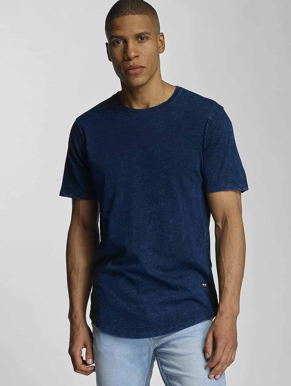 Only & Sons T-Shirt onsIndigo Ice Longy blue