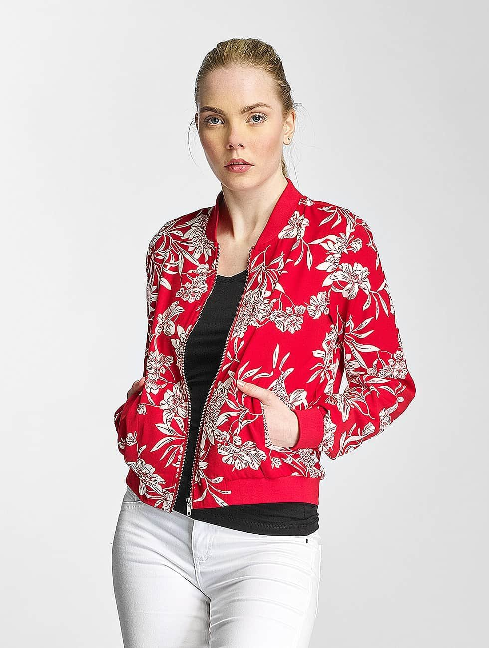 Only Lightweight Jacket onlFlour red