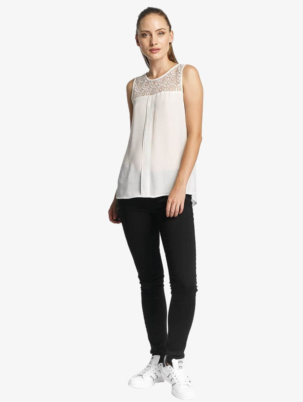 Only Top onlVenice Lace white