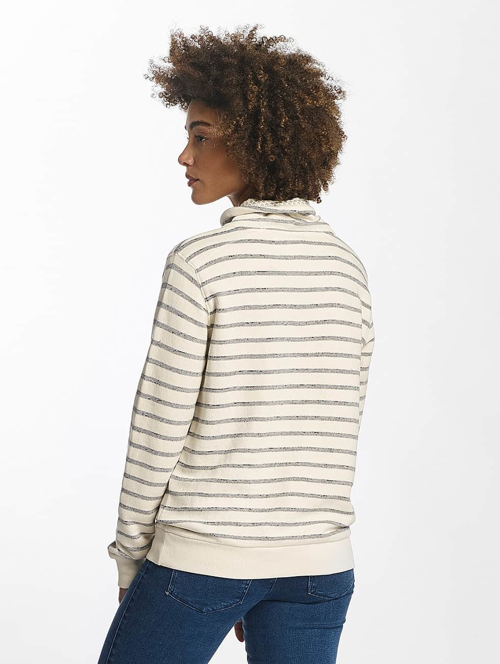 Oxbow Pullover Siora High Collar white