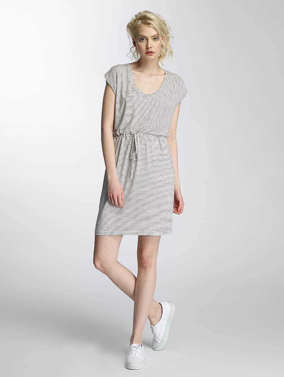 Pieces Dress pcBillo Stripe With String white