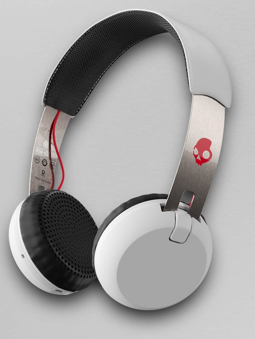 Skullcandy Headphone Grind Wireless On Ear white