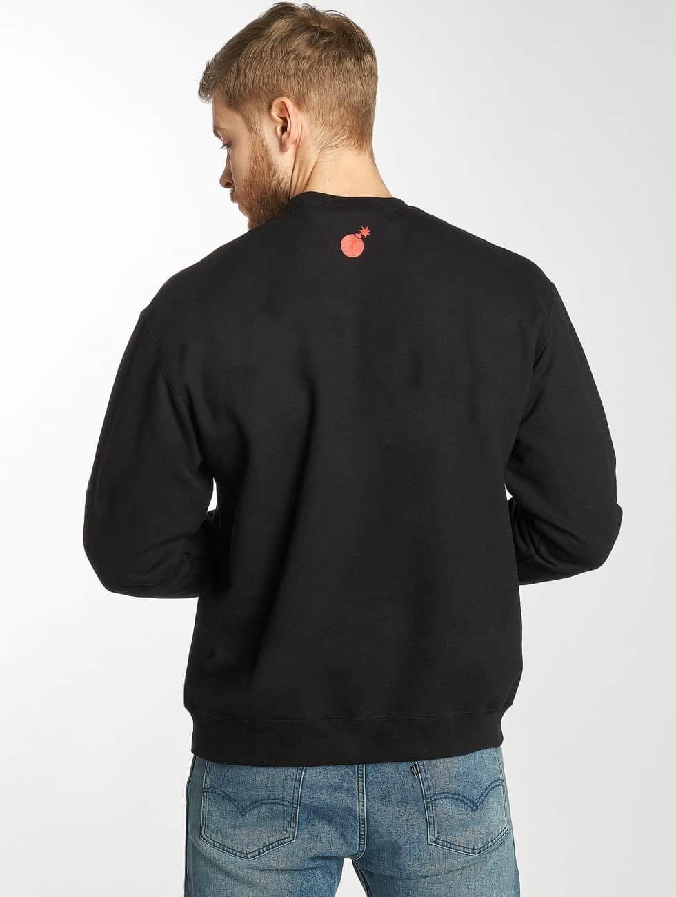 The Hundreds Pullover Lover black