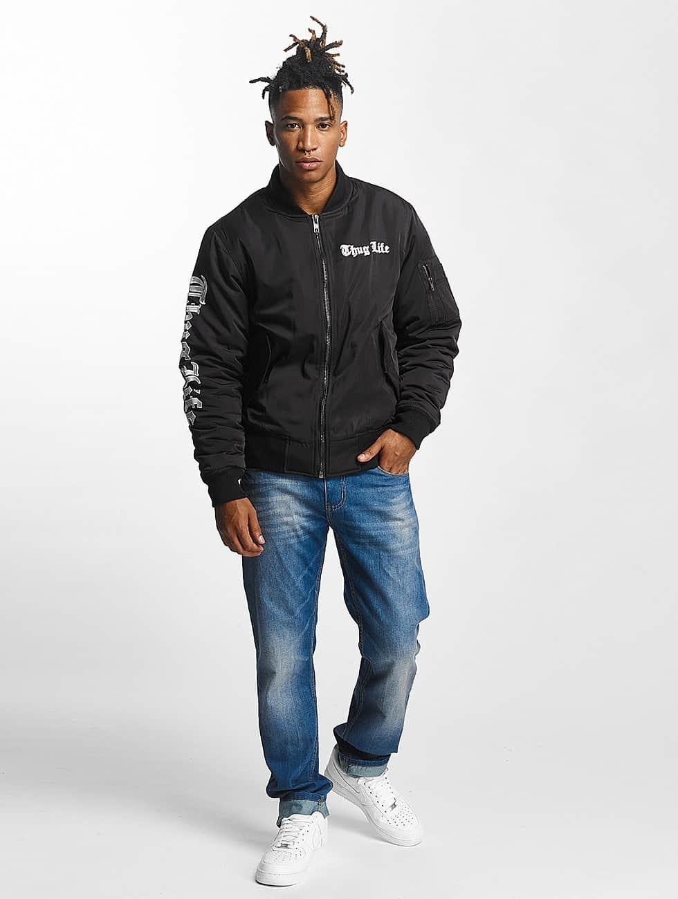 Thug Life Bomber jacket 2 in 1 black