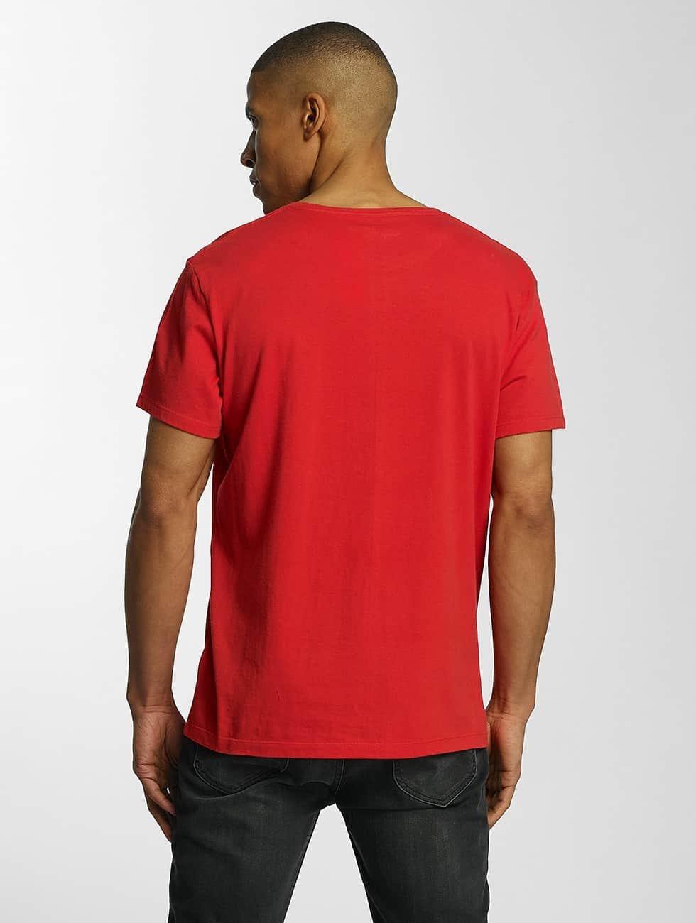 Timberland T-Shirt Lin Logo red