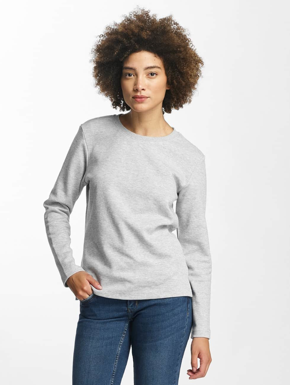 Urban Classics Pullover Athletic Interlock gray