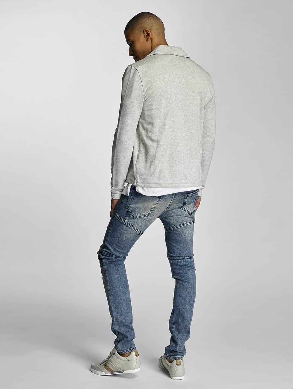 VSCT Clubwear Slim Fit Jeans Arnachy Heavy Biker blue