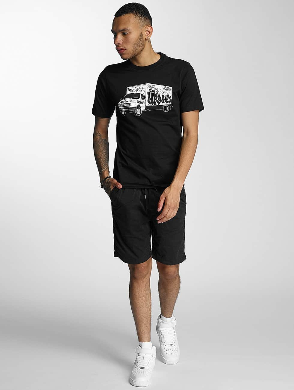 Wrung Division T-Shirt Truck black