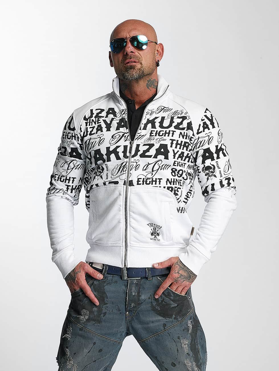 Yakuza Lightweight Jacket Allover Label white