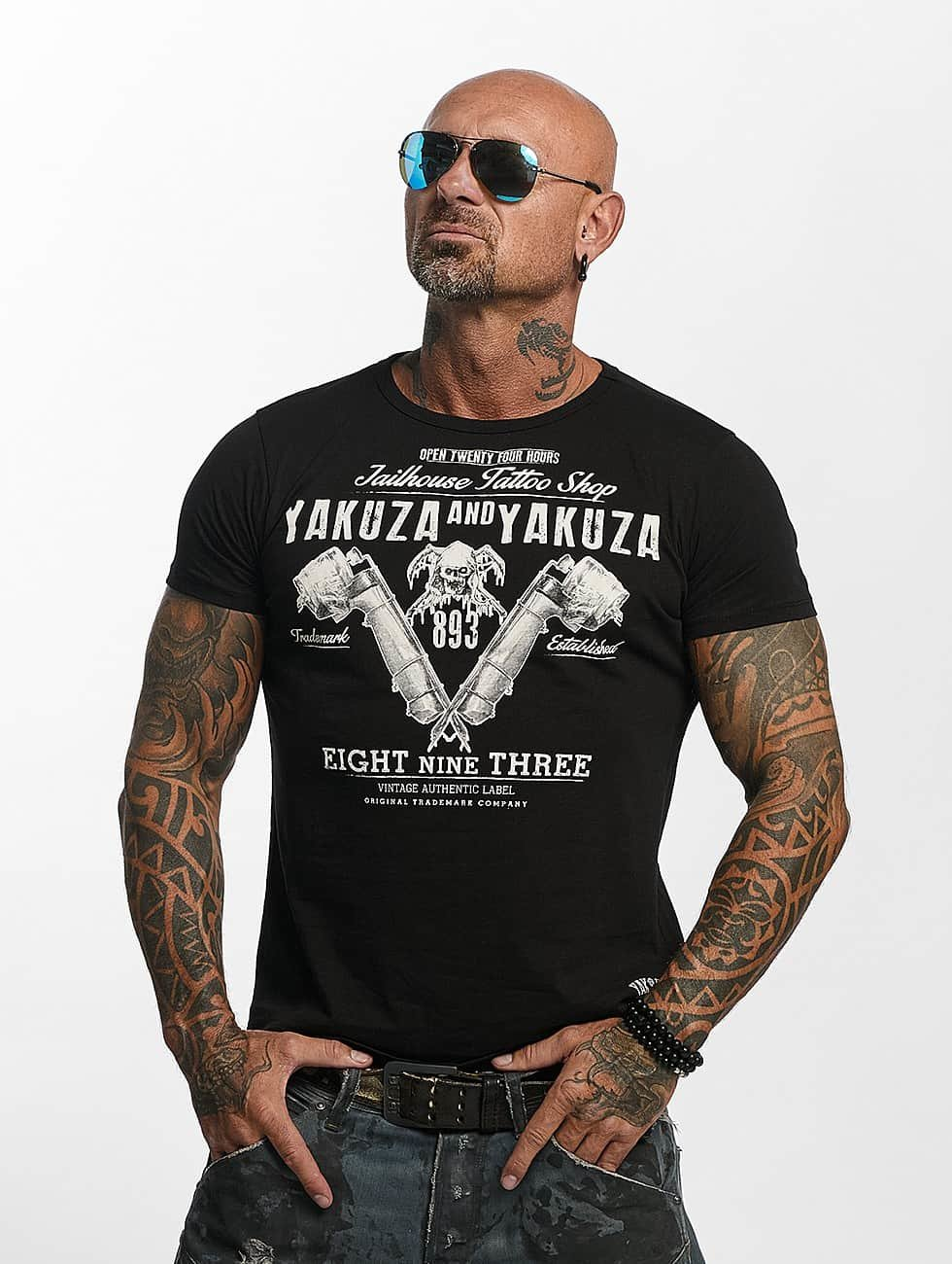 Yakuza T-Shirt Tattoo Shop black