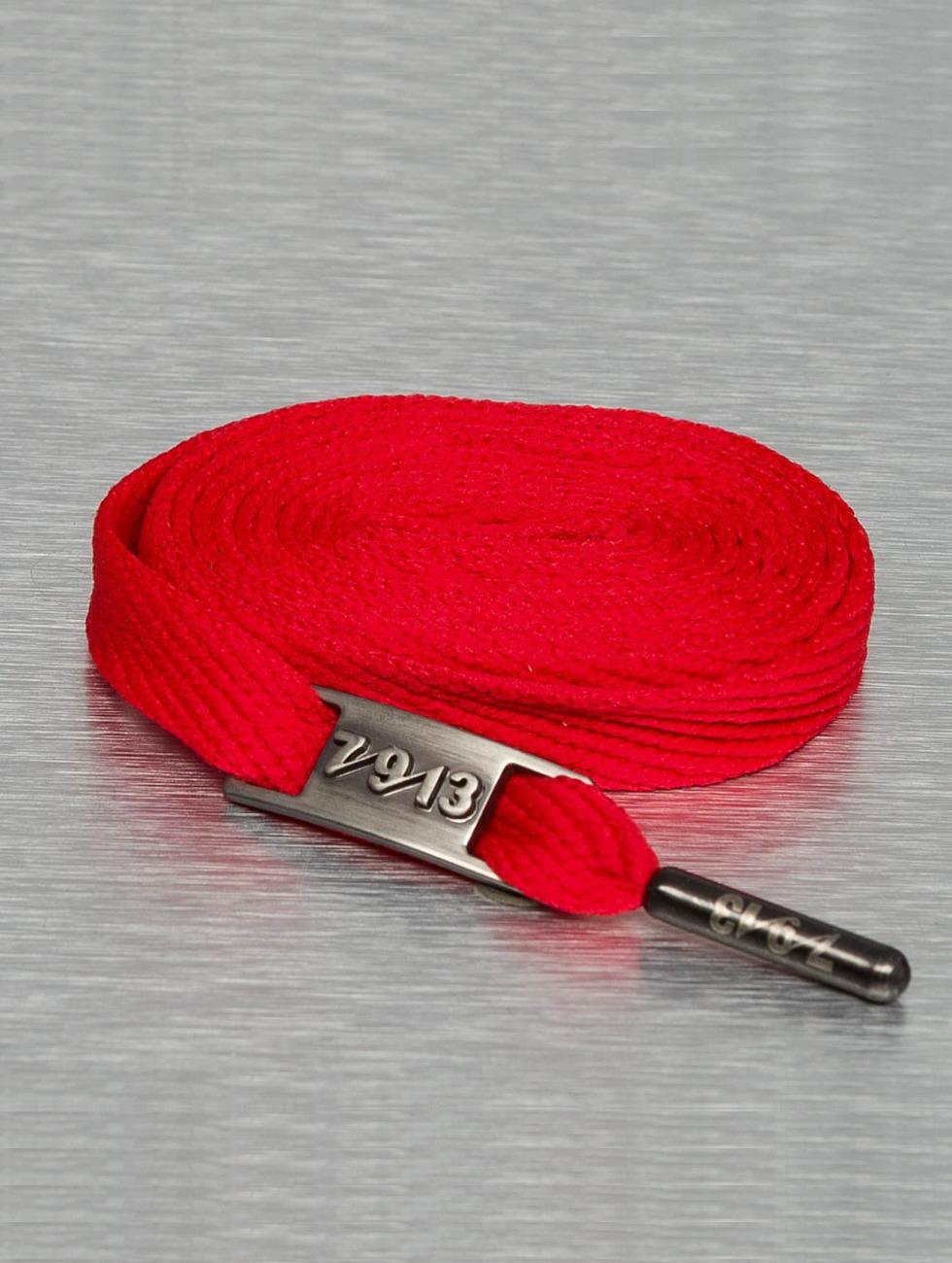 Seven Nine 13 Shoelace Full Metal red