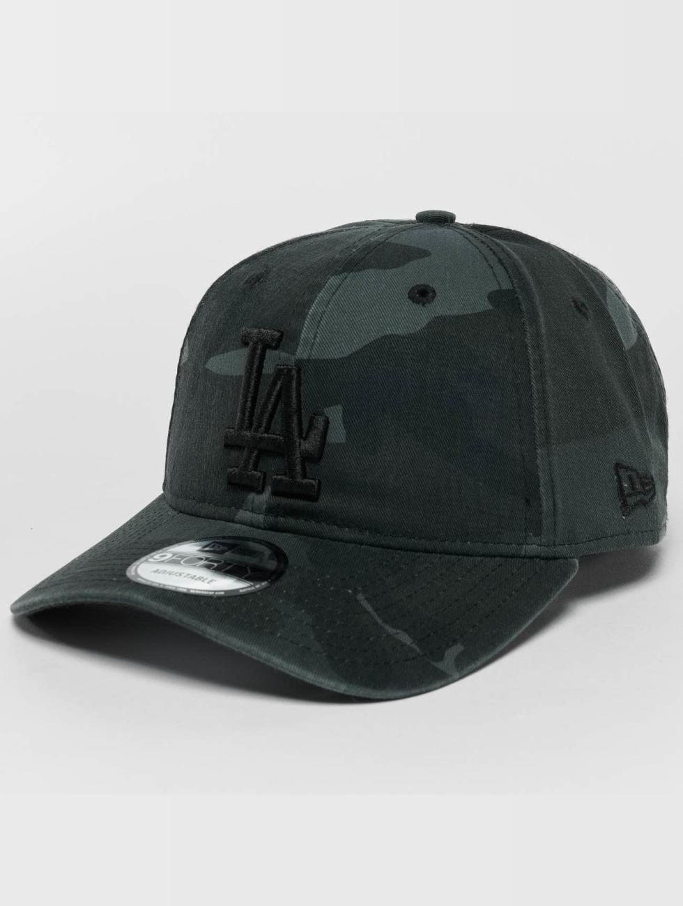 New Era Snapback Cap Washed Camo LA Dodgers 9Forty camouflage