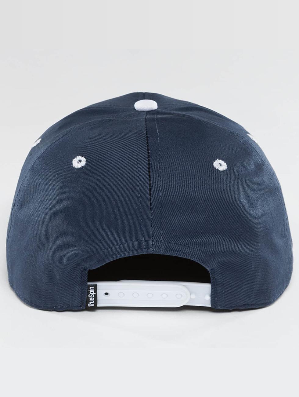 TrueSpin Snapback Cap Shorty CNT blue