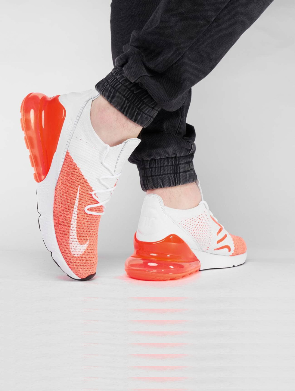 Nike Sneakers Air Max 270 Flyknit red