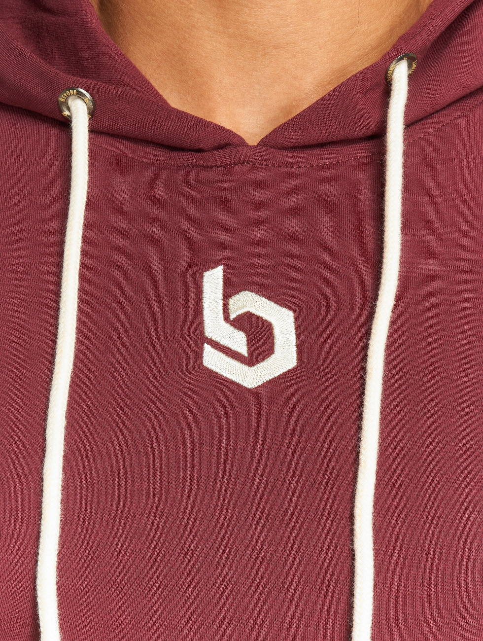 Beyond Limits Hoodie Monument red