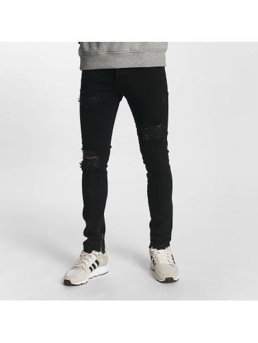 Alexander 2y Jeans Moulants Hommes En Noir