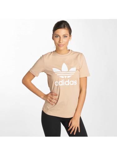 jeu de jeu dégagement 100% original Mujeres Trilobées Adidas Chemise En Beis ZiUDOqBJp