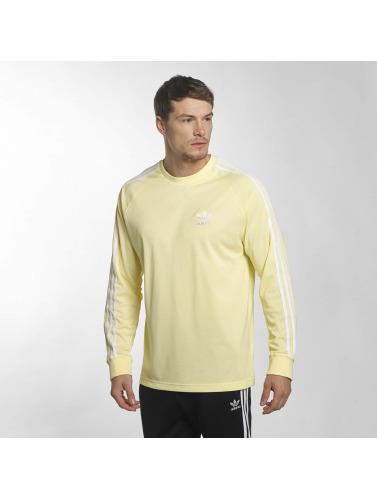 Adidas Originals Football À Manches Longues Hommes En Jaune