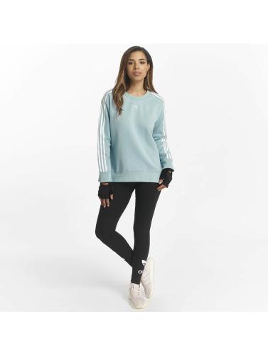 Adidas Originals Jersey Mujeres 3 Bandes En Azul pas cher populaire A1VREHPOIZ