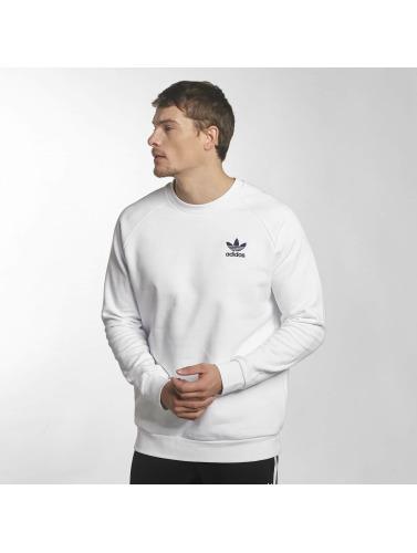 Adidas Originals Sweat-shirt En Jersey De Hombres En Blanco