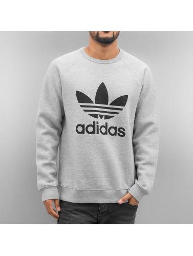 Adidas Originals Hombres Polaire Trilobé Jersey En Gris