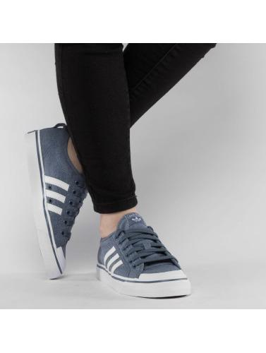 Réduction nouvelle arrivée Adidas Originals Nizza Baskets Femmes En Bleu jeu énorme surprise la sortie dernière p9fyn