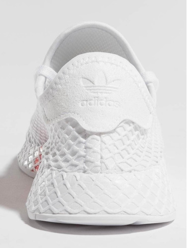 Baskets Adidas Originals Dans Runner Deerupt Blanc J vue cqtD6