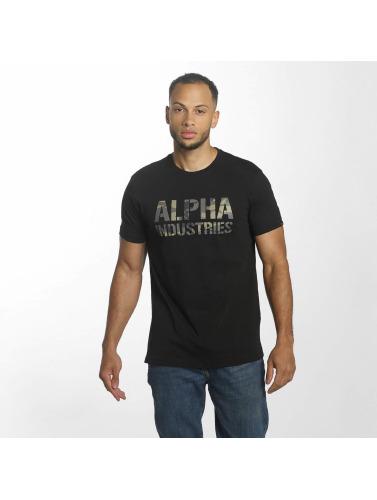 Alpha Industries De L'impression Camo Hommes En Noir