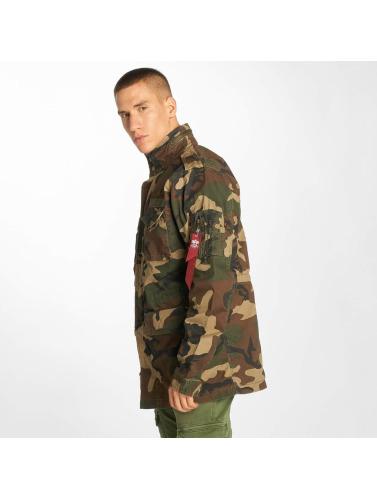 Hommes Veste Alpha Industries En Tenue De Camouflage Huntington Entretiempo prix pas cher UtUBL
