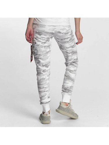 Alpha Industries Femmes X-ajustement En Blanc Pantalons De Survêtement qualité supérieure FfHFlKfRoj
