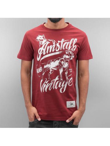 Amstaff Pour Hommes Farkas En Rouge 100% authentique jeu en ligne sortie 100% garanti B65T1F