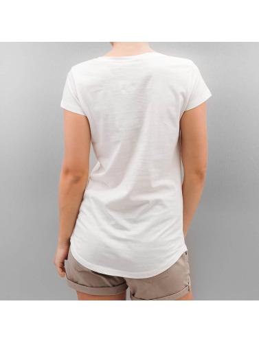 Le Style Authentique Mujeres Camiseta Plumes De Surface Urbaine En Blanco Manchester rabais AmgUL62