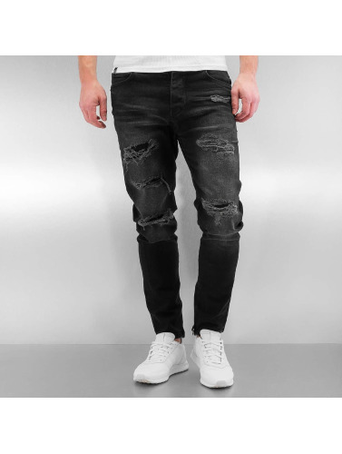 Bangastic Jeans Moulants Hommes K125 En Noir vente Frais discount vente combien 80PpkJcmx