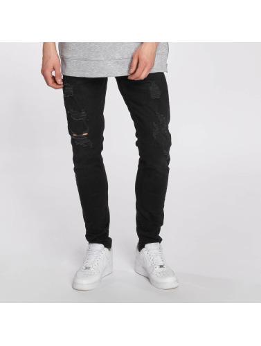 Bangastic Jeans Serrés Hommes Cole En Noir