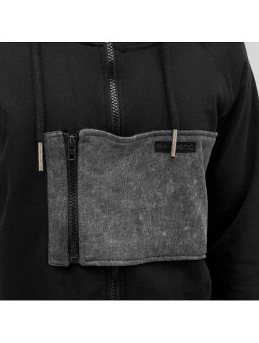Bangastic Parker Zip Pulls Molletonnés Hommes En Noir images de vente 1EFPANHC