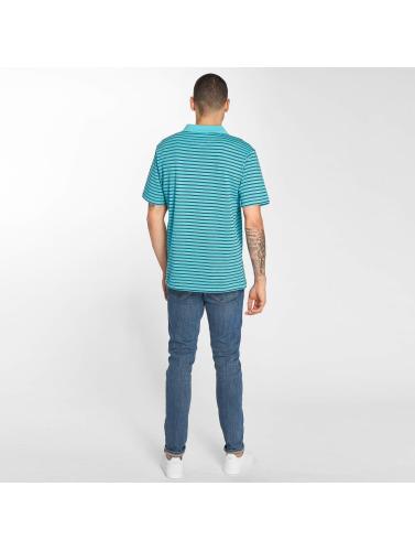 Polo Hommes Et Banc / D Bande Turquoise vente nouvelle arrivée vaste gamme de Nouveau 8a8fP