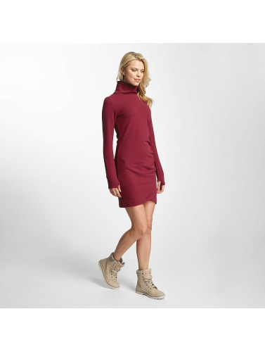 Robe En Mince Rouge Entonnoir Banc Femmes ARjq435L
